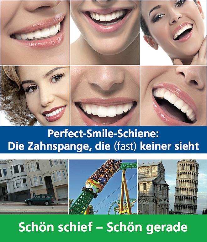 Perfect Smile Schiene - Home